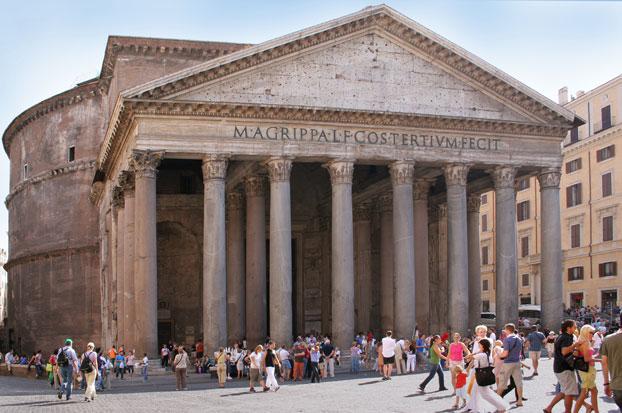 Rome_Pantheon_front